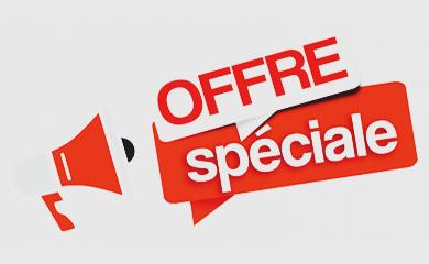 Trouvez nos offres spéciales